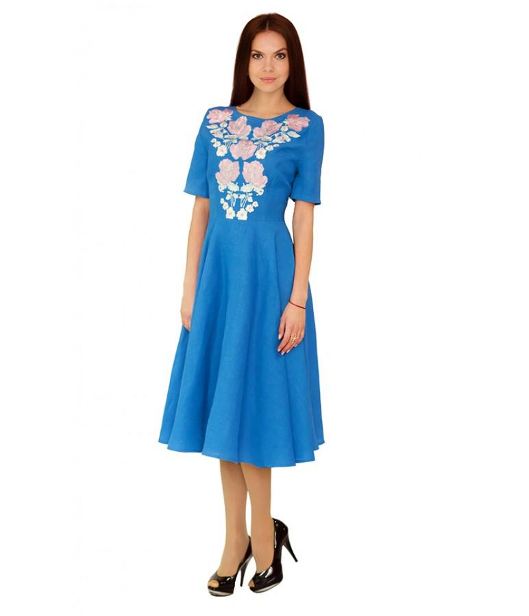 Плаття вишите жіноче