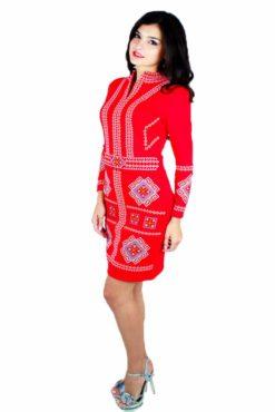 Жіноче вишите плаття «Карпатське» RМ-1026 - РедМак b7cb121689452