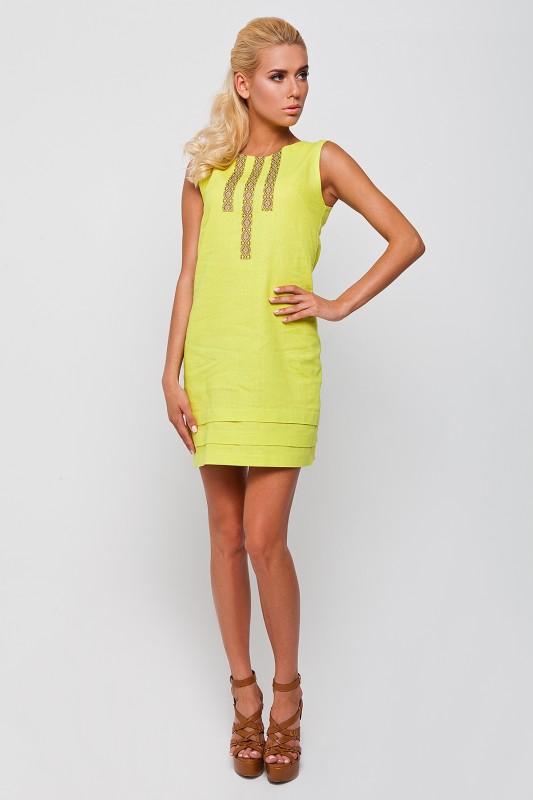 Жіноче стильне плаття з елементом вишивки RM-1061 - РедМак 9eb40c0d325c0
