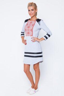 2d07c4a0b2c364 Жіноче стильне вишите плаття RM-1003 - РедМак