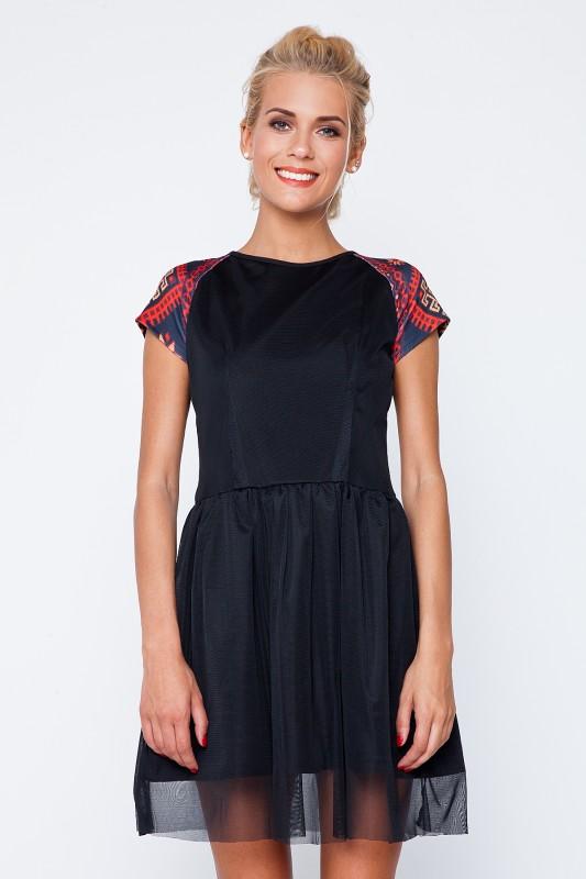 Жіноче стильне плаття з елементом вишивки RM-1004 - РедМак ee5df88c995e4