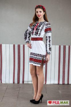 Сукня з вишивкою у традиційному борщівському стилі 3cfa477392afe